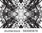 distress urban used texture.... | Shutterstock .eps vector #583085878