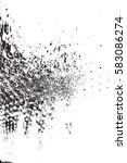 distressed spray grainy overlay ... | Shutterstock .eps vector #583086274