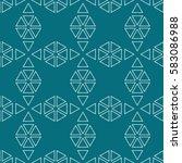 seamless geometric pattern of...   Shutterstock .eps vector #583086988