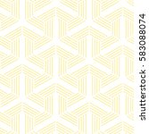 yellow and white pattern... | Shutterstock .eps vector #583088074
