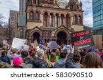 boston  ma usa   february 19 ... | Shutterstock . vector #583090510