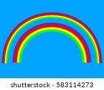 a set of editable vector... | Shutterstock .eps vector #583114273