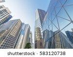 skyline of hong kong city    Shutterstock . vector #583120738