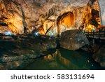 inside phra nang nai cave ... | Shutterstock . vector #583131694