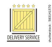 best quality delivery logo...