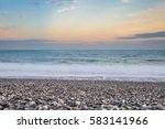 Stones Beach In Hualien City...