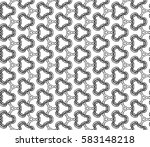 decorative seamless pattern.... | Shutterstock . vector #583148218