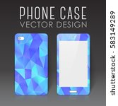 case for mobile phone with... | Shutterstock .eps vector #583149289