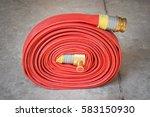 fire hose | Shutterstock . vector #583150930