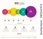 timeline infographics design...   Shutterstock .eps vector #583161913