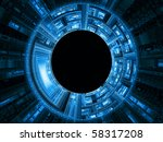 highly detailed technological... | Shutterstock . vector #58317208