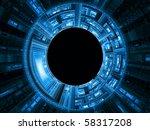 highly detailed technological...   Shutterstock . vector #58317208