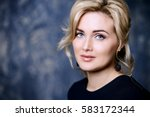 close up portrait of a... | Shutterstock . vector #583172344