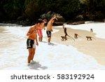 krabi  thailand   november 30 ... | Shutterstock . vector #583192924