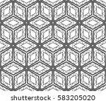 geometric patterns. raster copy ... | Shutterstock . vector #583205020