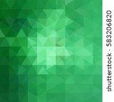 Triangle Green Vector...
