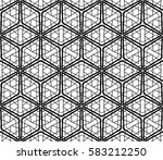 geometric patterns. raster copy ... | Shutterstock . vector #583212250