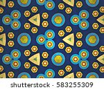 backgrounds abstract pattern... | Shutterstock . vector #583255309