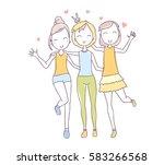 vector illustration of... | Shutterstock .eps vector #583266568