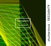 modern technology striped... | Shutterstock .eps vector #583268479