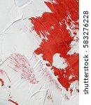 painting closeup texture... | Shutterstock . vector #583276228