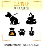 set of information dog icons.... | Shutterstock .eps vector #583278463