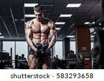 Muscular Man Bodybuilder...