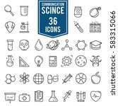 science icons  technology...