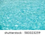 blue sea wave ripple curl water ... | Shutterstock . vector #583323259
