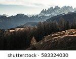 mountain landscape   italian...   Shutterstock . vector #583324030