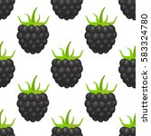 vector seamless pattern with... | Shutterstock .eps vector #583324780