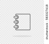 notebook vector icon. notebook...