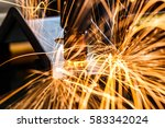 industrial welding automotive... | Shutterstock . vector #583342024