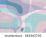 creative geometric colorful... | Shutterstock .eps vector #583342720