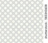 vector seamless pattern.... | Shutterstock .eps vector #583343608