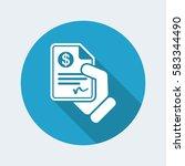payment document | Shutterstock .eps vector #583344490