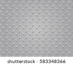 seamless diamond plate... | Shutterstock .eps vector #583348366