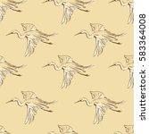 background seamless pattern... | Shutterstock .eps vector #583364008