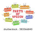 mascot illustration featuring... | Shutterstock .eps vector #583366840
