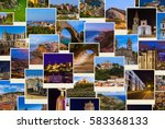 portugal travel images   nature ... | Shutterstock . vector #583368133
