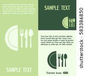 vector illustration sign with... | Shutterstock .eps vector #583386850