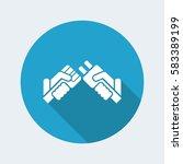 plug concept icon   Shutterstock .eps vector #583389199
