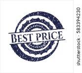 blue best price distressed... | Shutterstock .eps vector #583394230