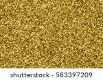 gold glitter texture. amber... | Shutterstock . vector #583397209