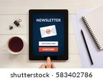 Subscribe Newsletter Concept On ...