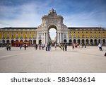 lisbon  portugal   april 1 2015 ...   Shutterstock . vector #583403614