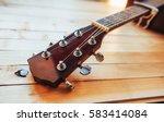 Close Up Neck Acoustic...