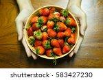 strawberry | Shutterstock . vector #583427230
