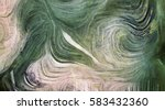 fluid lines of color movement.... | Shutterstock . vector #583432360