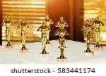 bowl award before the... | Shutterstock . vector #583441174